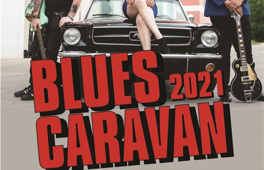 Blues Caravan at Doncaster Dome