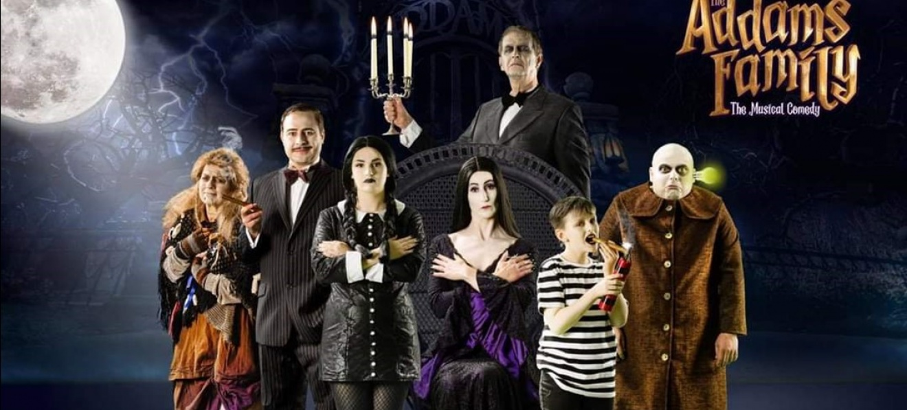 The Addams Family at Doncaster's Cast