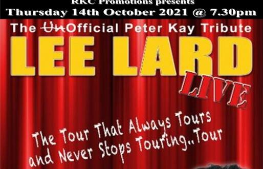 Lee Lard – Live