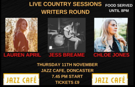 Live Country Sessions Writer's Round