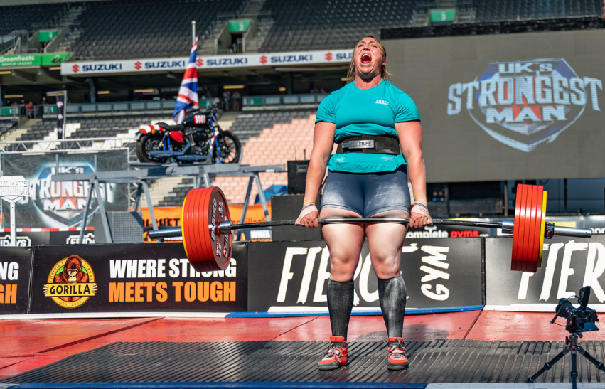Britain's Strongest Women 2021 at Doncaster Dome