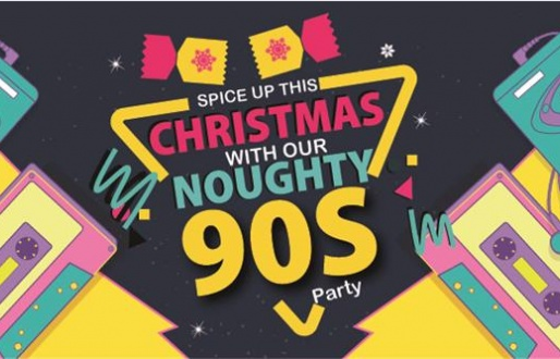 Christmas with our Noughty 90's Party