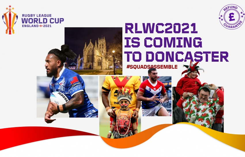 RLWC comes to Doncaster