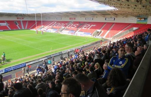 Doncaster RLFC v Hunslet
