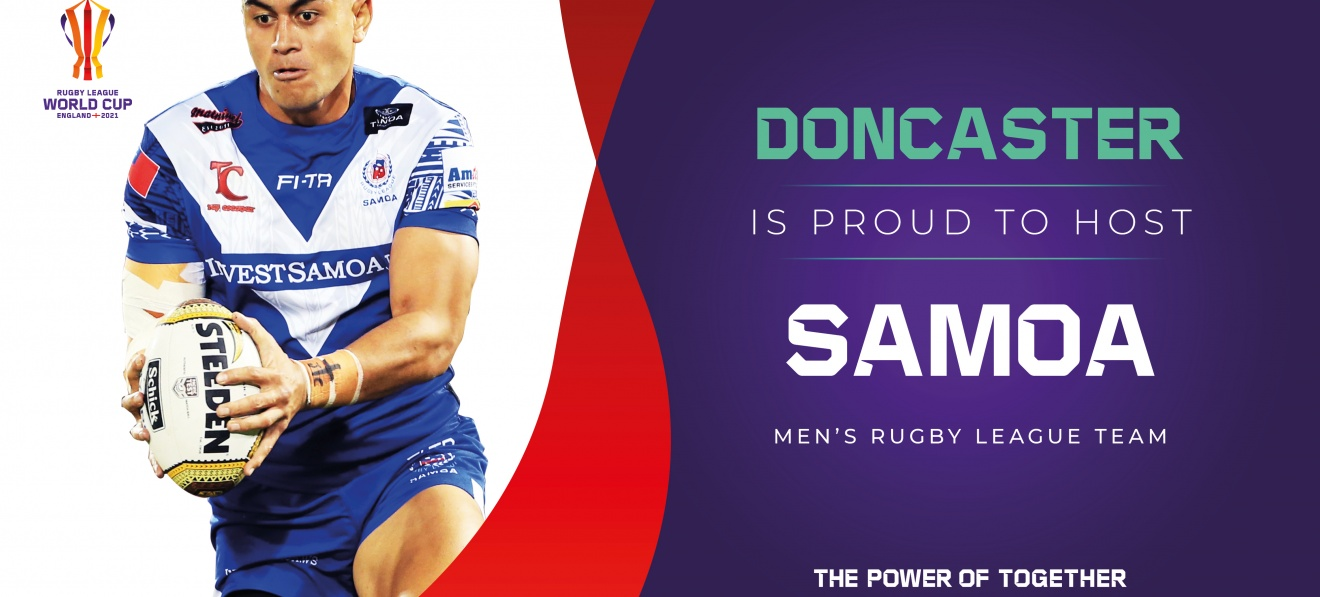 Doncaster is proud to host Samoa image