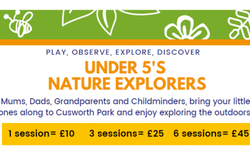 Nature Explorers at Doncaster's Cusworth Hall
