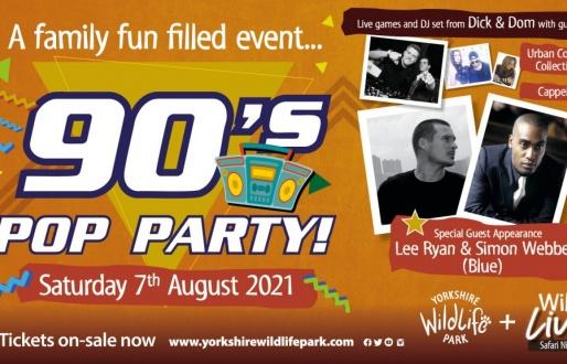 90's POP Party - Wild Live Safari Nights