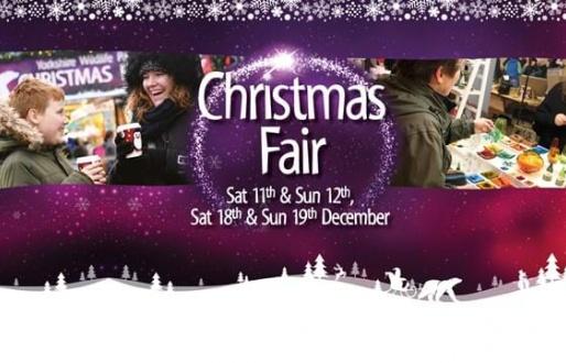 Christmas Fair at Yorkshire Wildlife Park