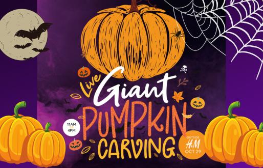 Live Giant Pumpkin Carving