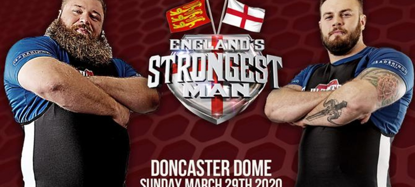 England's strongest man at Doncaster Dome