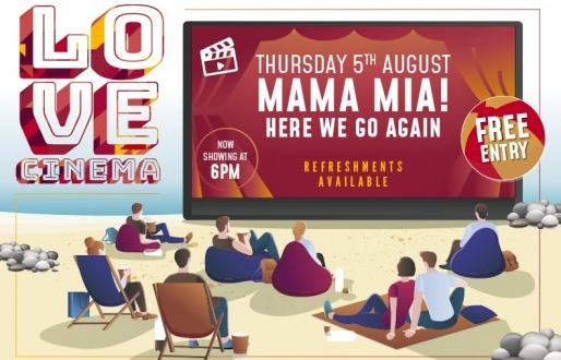 Summer Cinema Nights: Mama Mia! Here We Go Again