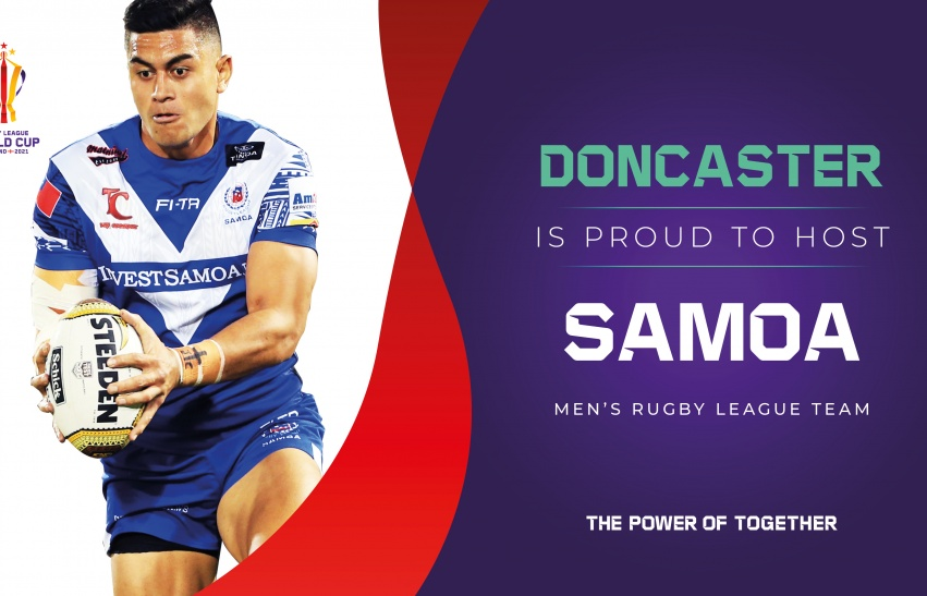 Doncaster hosts Samoa