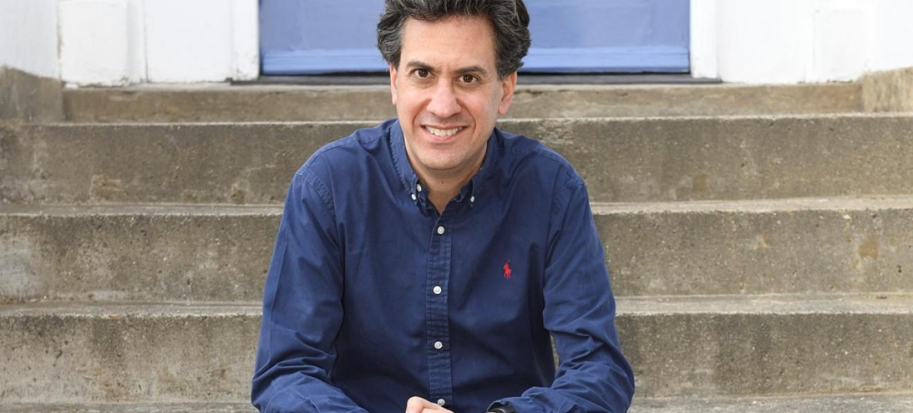 Ed Miliband at Doncaster's Cast