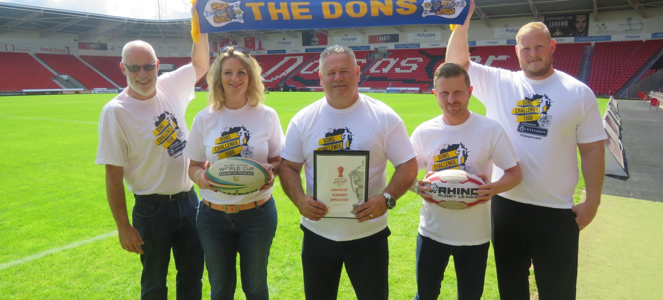 Rugby League World Cup Doncaster