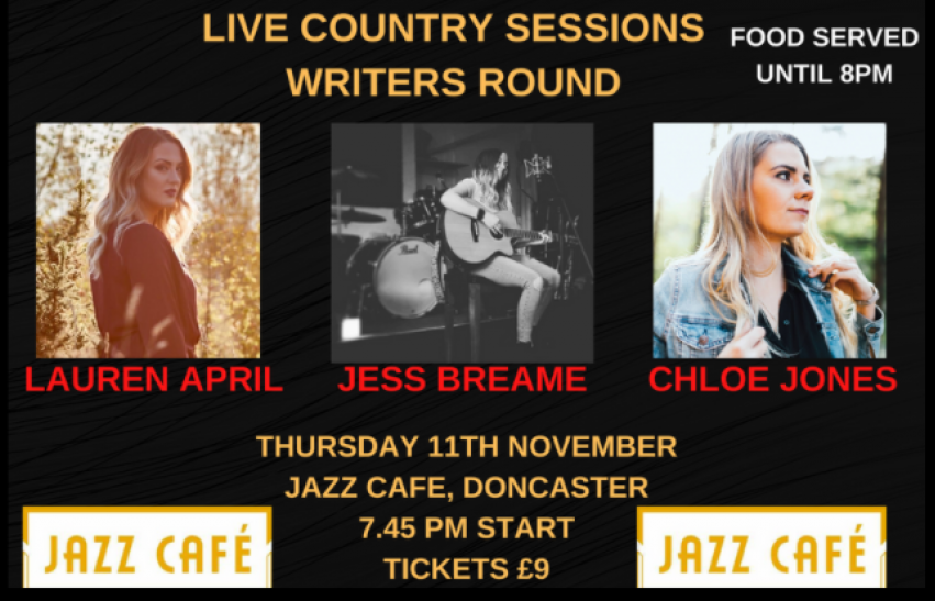 Live Country Sessions at Doncaster's Jazz Café