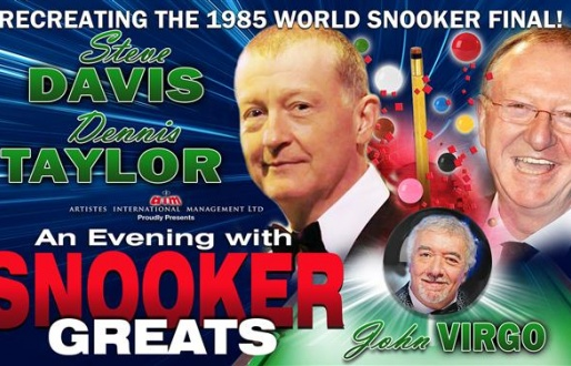 An Evening With Snooker Great's