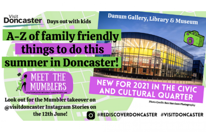 Mumbler A-Z of things to do in Doncaster