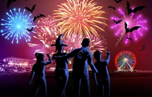 Spooky Fireworks Spectacular