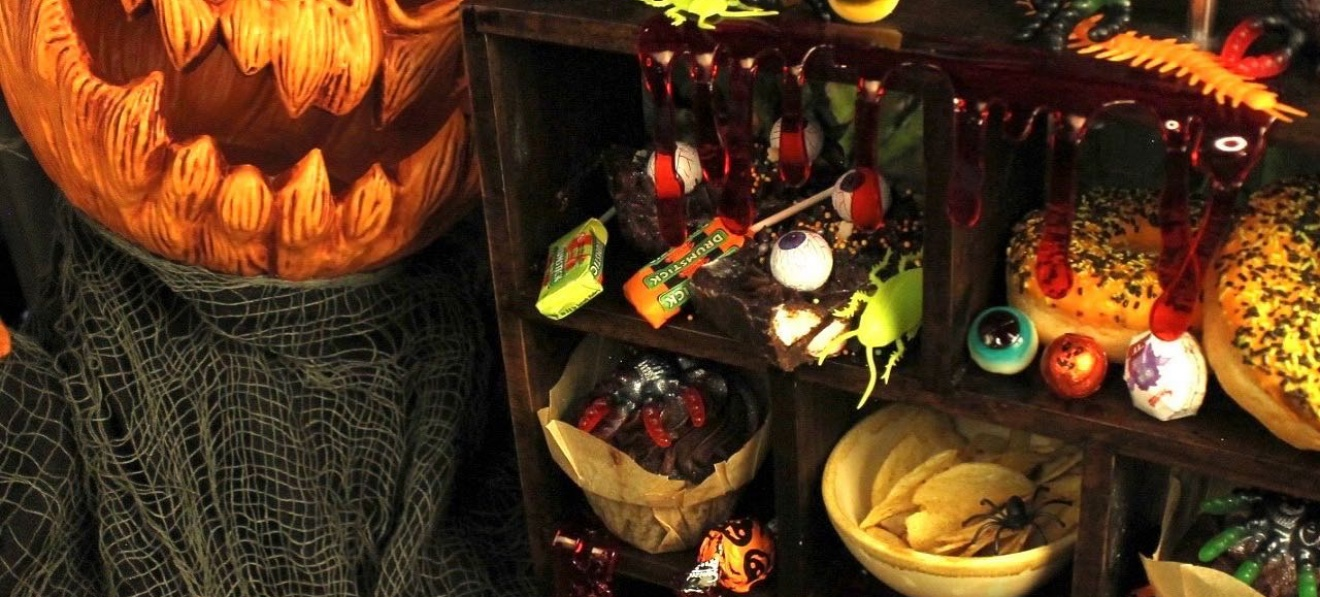Halloween Afternoon Tea at Glass Strawberry