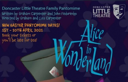 Alice in Wonderland – The Little Theatre Easter Pantomime!